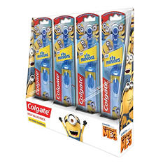 Colgate Kids Battery Powered Toothbrush, Minions or Trolls (4 pk.)