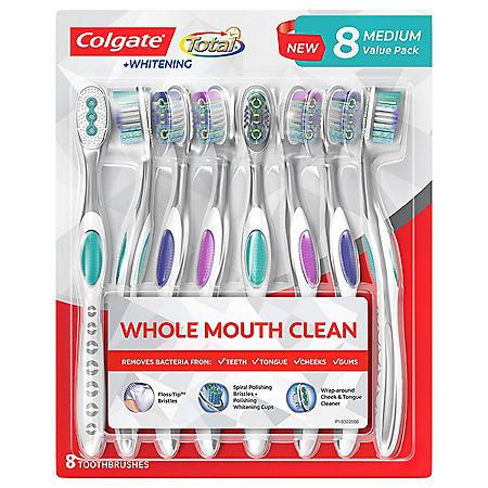 Colgate Total Toothbrush (8 ct.)
