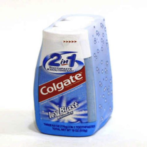 Colgate 2-in-1 Toothpaste/ Mouthwash - 3/6 oz.