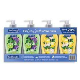 Softsoap Liquid Hand Soap Decor Variety Pack (13 oz., 4 pk.)