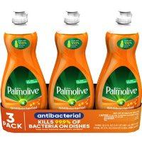 Palmolive Ultra Antibacterial Dishwashing Liquid Dish Soap, Orange (32.5 oz., 3 pk.)