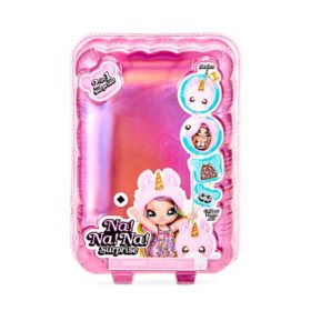 Fashion Doll NA! NA! NA! Surprise, 2-in-1 Fashion Doll and Pom Purse (Assorted)