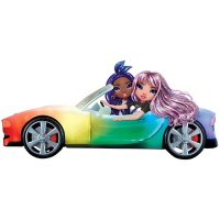 Rainbow High 8-in-1 Color Changing Car