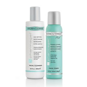 Pharmagel Skin Cleanse, Hydra Cleanse + Botanical Tonique Mist Facial Toner