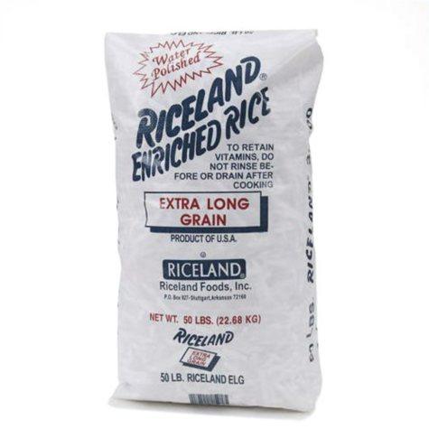 Riceland Extra Long Grain Rice - 50 lbs.