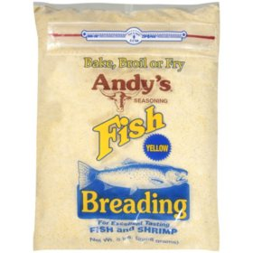 Andy's Seasoning Fish Breading - Yellow - 5 lbs.