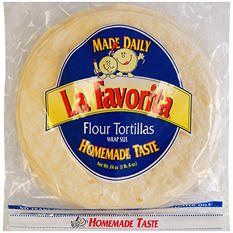 "La Favorita 10"" Flour Tortillas (72 oz., 30 ct.)"