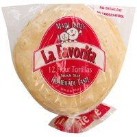 La Favorita Flour Tortillas Snack Size (45 oz., 36 ct.)
