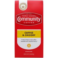 Community Coffee Ground Coffee Vacuum Sealed Pack, Coffee & Chicory (23 oz.)