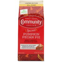 Community Coffee Ground Coffee, Spiced Pumpkin Pecan Pie (32 oz.)