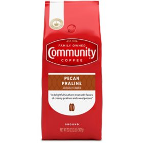 Community Coffee Ground Coffee, Pecan Praline (32 oz.)