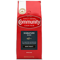 Community Coffee, Dark Roast, Ground (40 oz. bag)