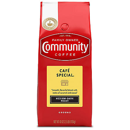 Community Coffee Ground Cafe Special (40 oz.)
