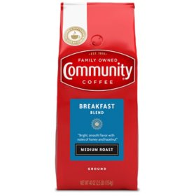 Community Coffee Ground Breakfast  Blend (40 oz.)