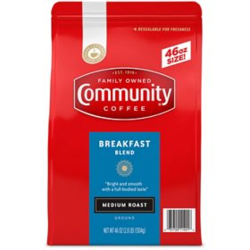 Community Coffee Ground, Breakfast Blend (46 oz.)