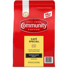 Community Coffee Ground, Cafe Special (46 oz.)