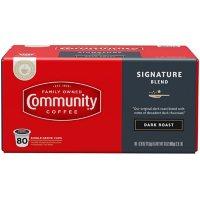 Community Coffee Single Serve Cups, Dark Roast (80 ct.)