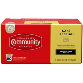 Community Coffee Single Serve Cups, Cafe Special (80 ct.)