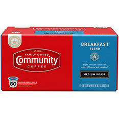 Community Coffee, Breakfast Blend (80 K-Cups)