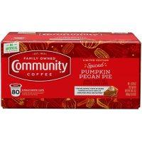 Community Coffee Single Serve Cups, Spiced Pumpkin Pecan Pie (80 ct.)