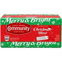Community Coffee Single-Serve Cups, Holiday Blend (80 ct.)