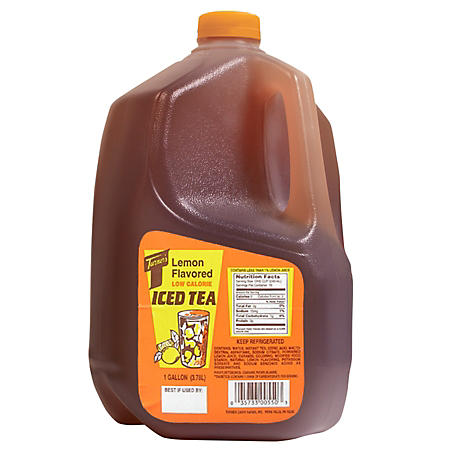 Turners Lemon Flavored Low Calorie Iced Tea - 1 gal.