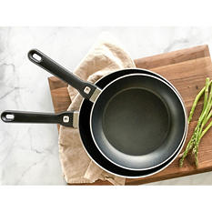 "Henckels International Tuscany 2-Piece Nonstick Fry Pan Set - 8"" and 10"" (Choose Your Color)"