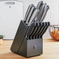 JA Henckels Everedge Plus 13-Pc Knife Block Set W/Cutting Board Deals