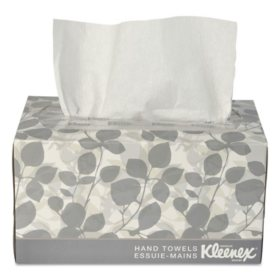 Kleenex - Hand Towels, POP-UP Box, Cloth, 9 x 10 1/2 -  120/Box