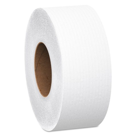 "Scott - JRT Jumbo Roll Bathroom Tissue, 2-Ply, 9"" dia, 1000ft -  4/Carton"