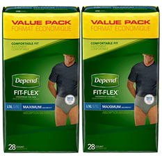 Depend Underwear for Men, Large/Extra Large (56 ct.)