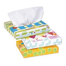 Kleenex Facial Tissue Flat Box, 2-ply (68 tissues per box, 48 boxes)