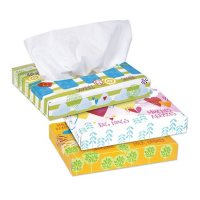 Kleenex White Facial Tissue Junior Pack, 2-Ply (40 sheets/box, 80 boxes)