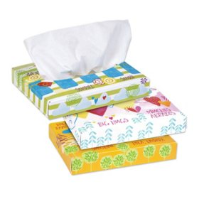 Kleenex Facial Tissue Junior, Flat Box, 2-ply (40 tissues per box, 80 boxes)