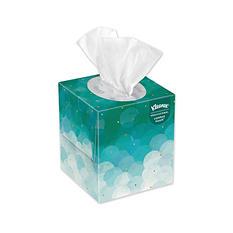 Kleenex White Facial Tissue Pop-Up Box, 2-Ply (95 tissues per box, 6 boxes per pk.)