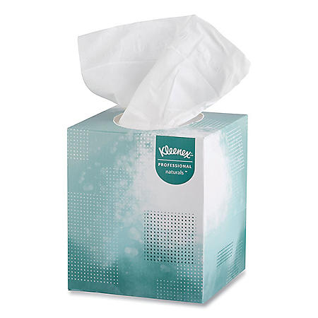 Kleenex Naturals Boutique Facial Tissue Box, 2-Ply (95 sheets per box, 36 boxes)