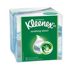 Kleenex - Lotion Facial Tissue, 2-Ply, 75 Sheets/Box -  27 Boxes/Carton