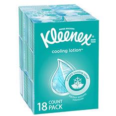 Kleenex Cool Touch Facial Tissues (50 tissues, 18 pk.)