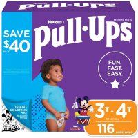 Pull-Ups Training Pants for Boys, Size 3T/4T (116 ct.)