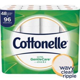 Cottonelle Ultra Gentle Care Toilet Paper (48 Double Rolls)