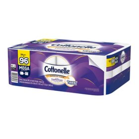 Cottonelle Ultra Comfort Care Toilet Paper, Mega Rolls (24 ct.)