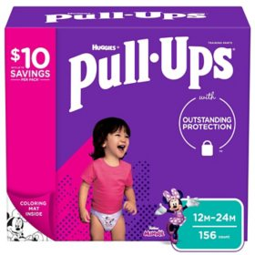 3T-4T Huggies Pull-Ups Plus Training Pants Diapers for Boys Size 2T-3T 4T-5T