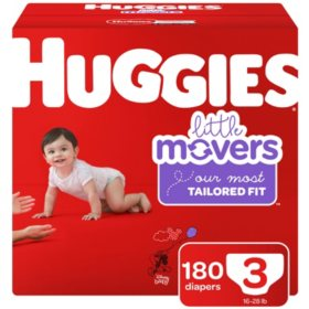 Huggies Little Movers Diapers (Choose Your Size)