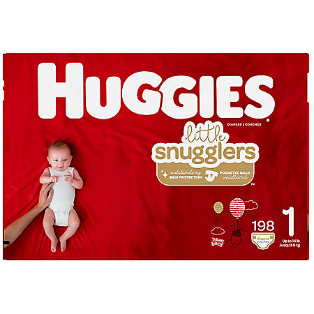 Huggies Little Snugglers Diapers (Choose Your Size)