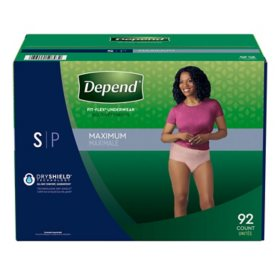 Depend Fit-Flex Underwear for Women (Choose Your Size)