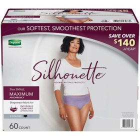 Depend Silhouette Incontinence Underwear for Women, Maximum Absorbency