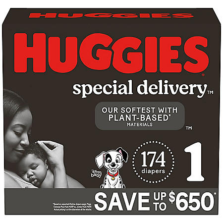 Huggies Special Delivery Hypoallergenic Baby Diapers (Choose Your Size)