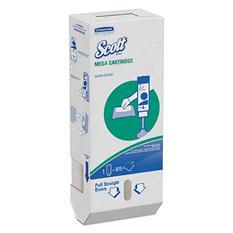 Scott - MegaCartridge Napkins, 1-Ply, 8 2/5 x 6 1/2, White, 875/Pack -  6 Packs/Carton