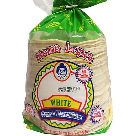 Mama Lupe's White Corn Tortillas (75oz)