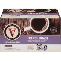 Victor Allen's Single-Serve Cups, French Roast (100 ct.)